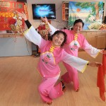 Seniors from the Pui Hong program perform in celebration of Chinese New Year - also known as the Spring Festival - which is a time to honour deities as well as ancestors.